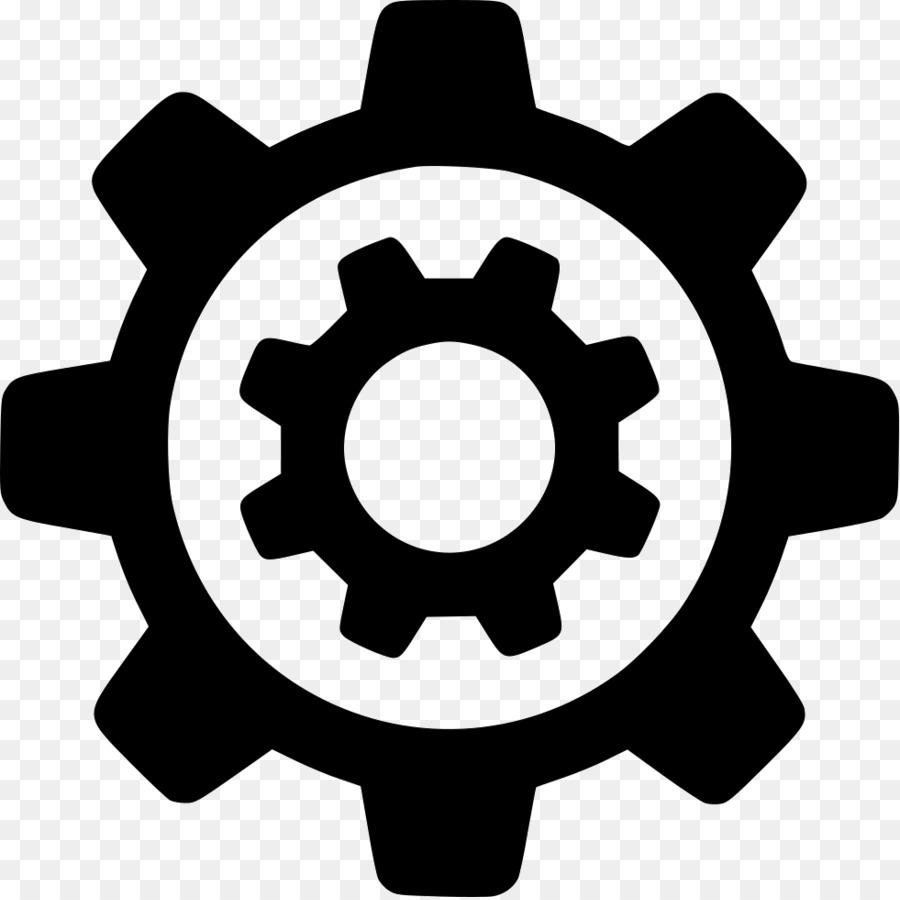 Engineering icon design line. Engine clipart engineer symbol