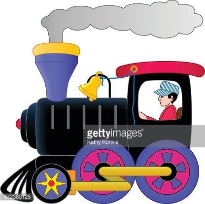 Engine clipart enginner. Stream train and engineer