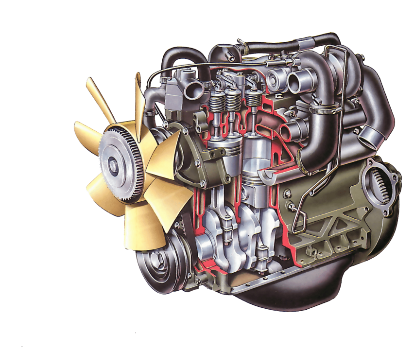 Motors png free images. Engine clipart enginner