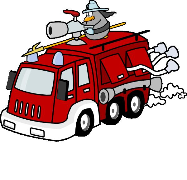 Firefighter clipart vehicle. Fireman clip art at
