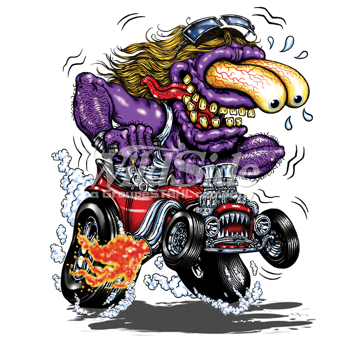 Engine clipart hotrod. P x purple monster