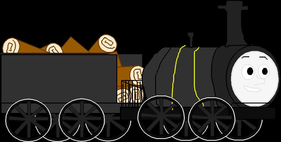 The new railway series. Engine clipart loco