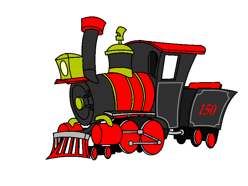 Mecha soul train by. Engine clipart loco
