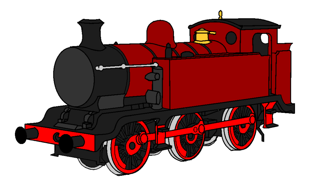 Engine clipart loco. Factory e tank by