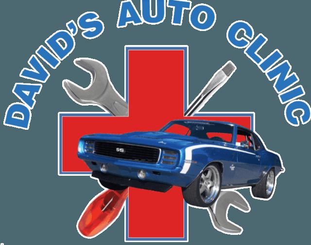 Engine clipart mechanic shop. David s auto clinic