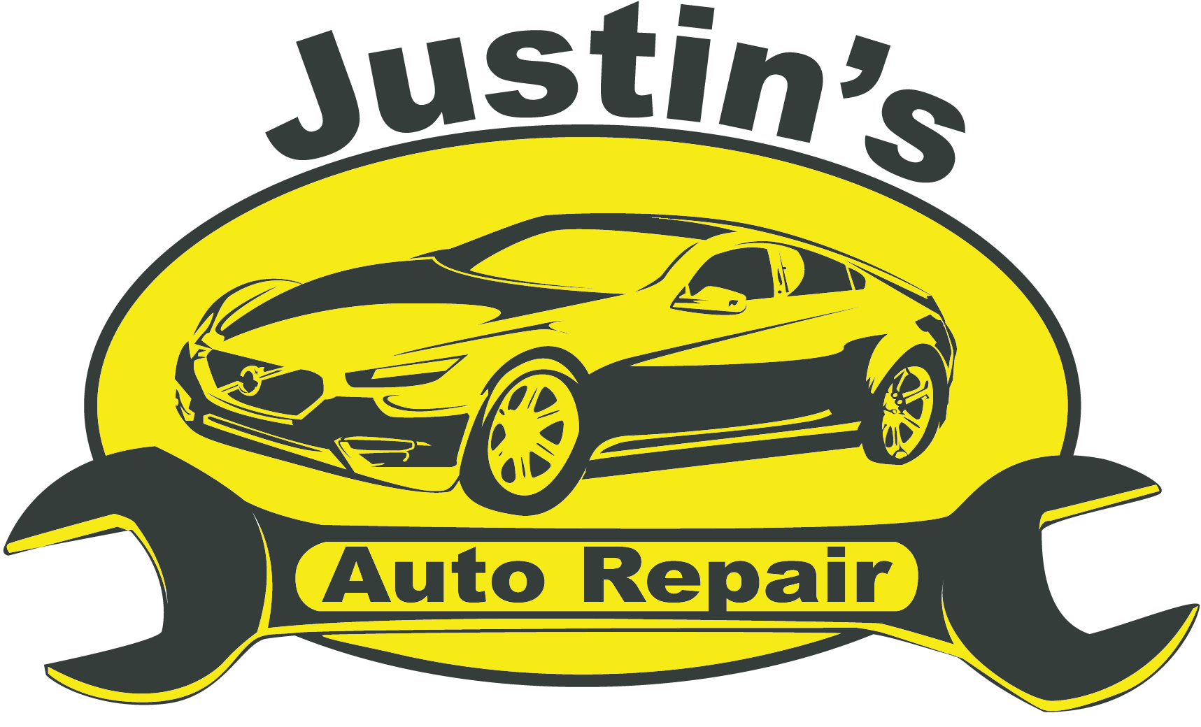 Engine clipart mechanic shop. Home justin s auto