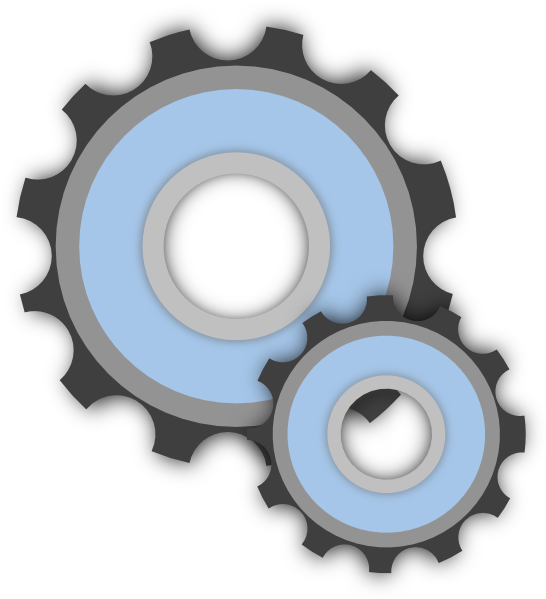 Mech gears clip art. Gear clipart gambar