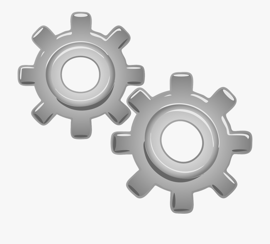 Gears clipart wheel in motion. Motor part free picture