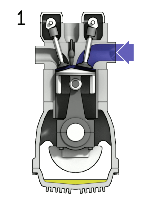 Difference between stroke and. Engine clipart motorcycle piston