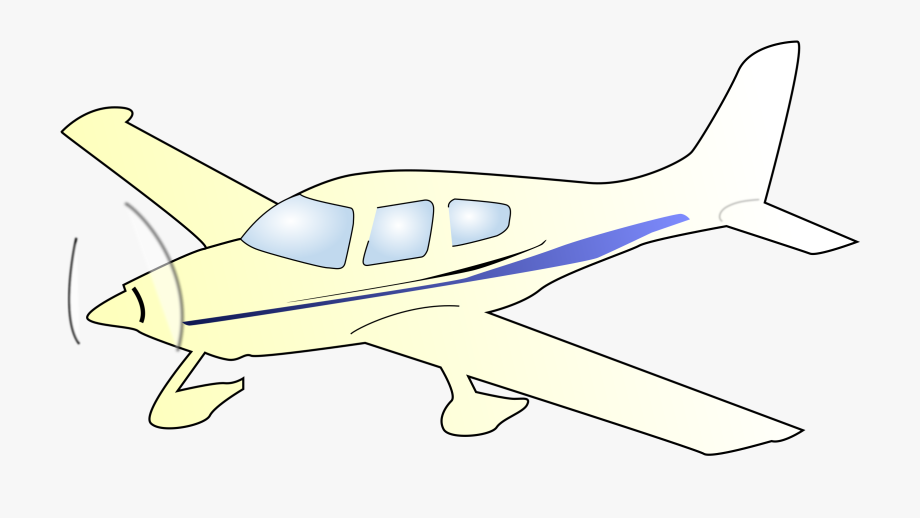 Engine clipart plane engine. Single draw a small