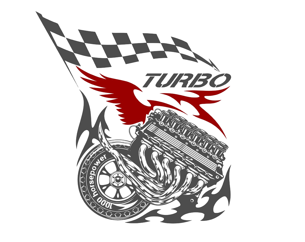 Car flags auto pattern. Engine clipart racing engine