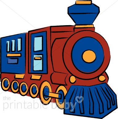 Engine clipart railway engine. Steam train baby vehicle