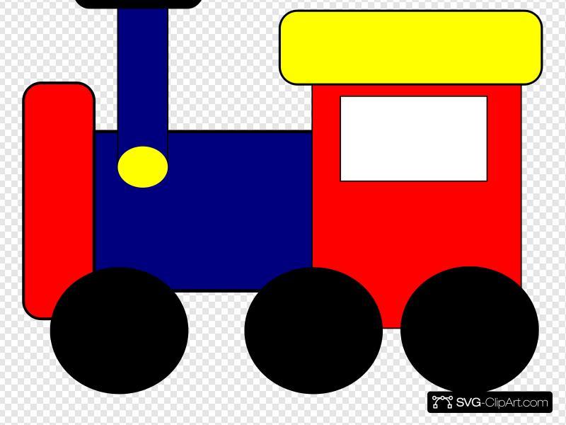 Train clip art icon. Engine clipart railway engine