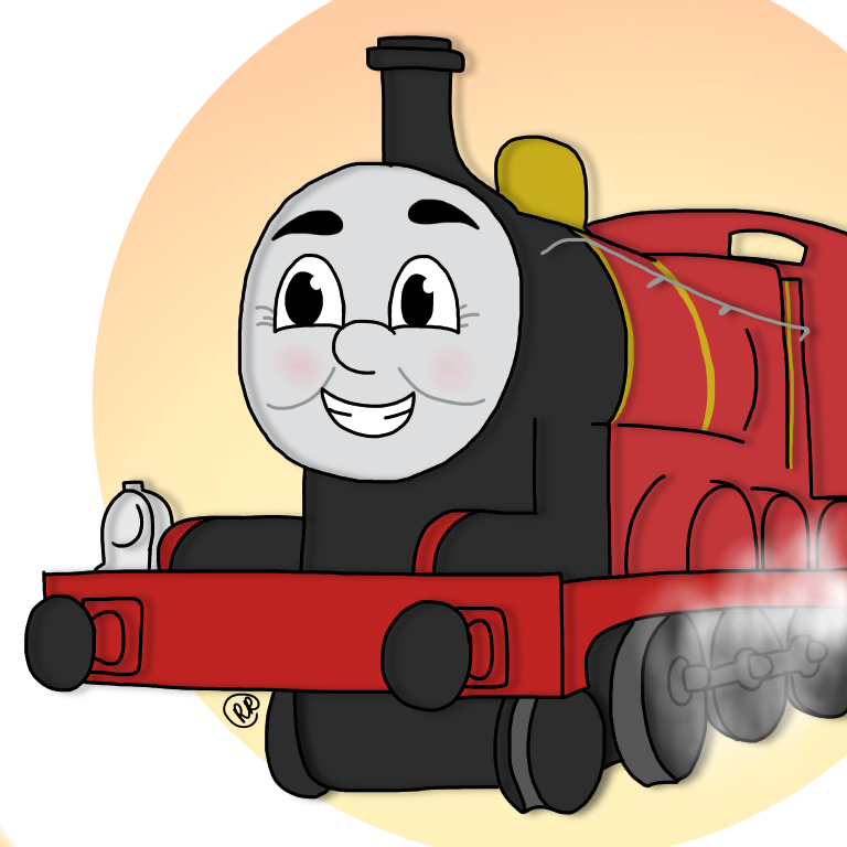 Splendid by toothessthenightfury on. Engine clipart red train