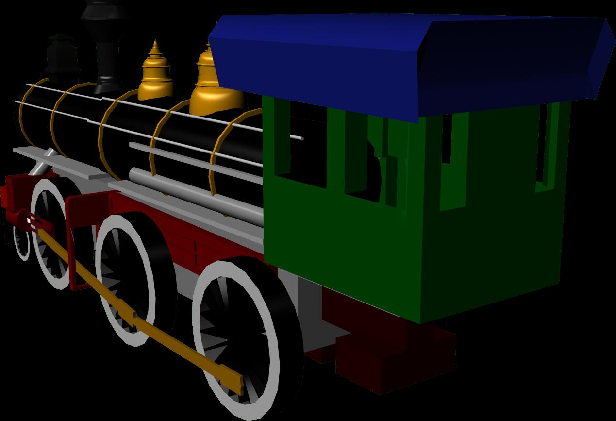 My art blog d. Engine clipart short train