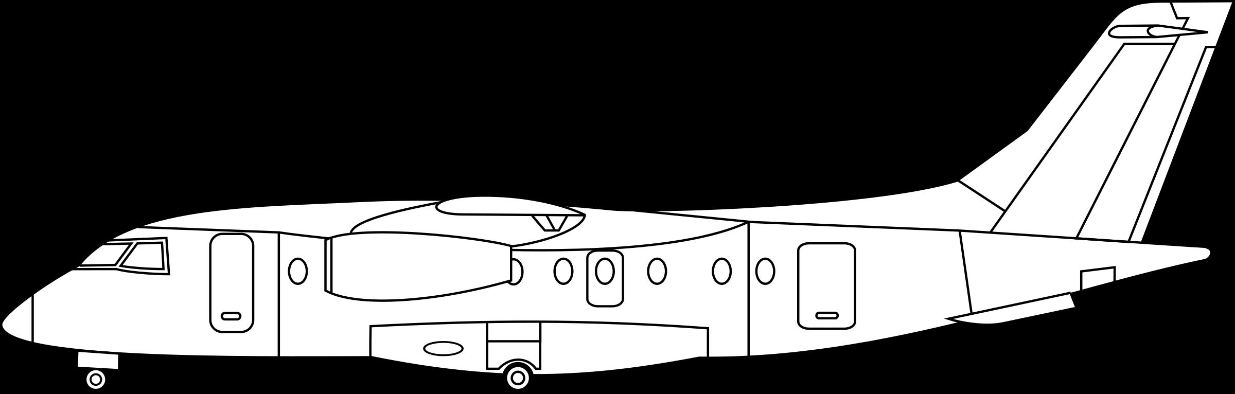 Dornier jet big image. Engine clipart side view