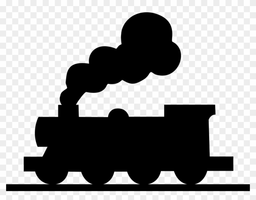 Engine clipart silhouette. Free png train steam
