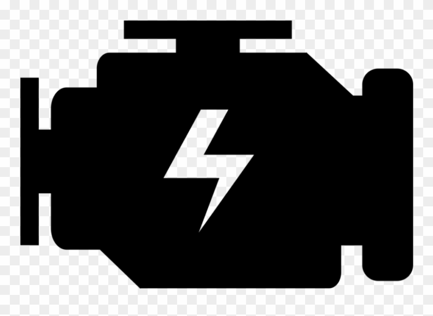 Jpg library check light. Engine clipart silhouette