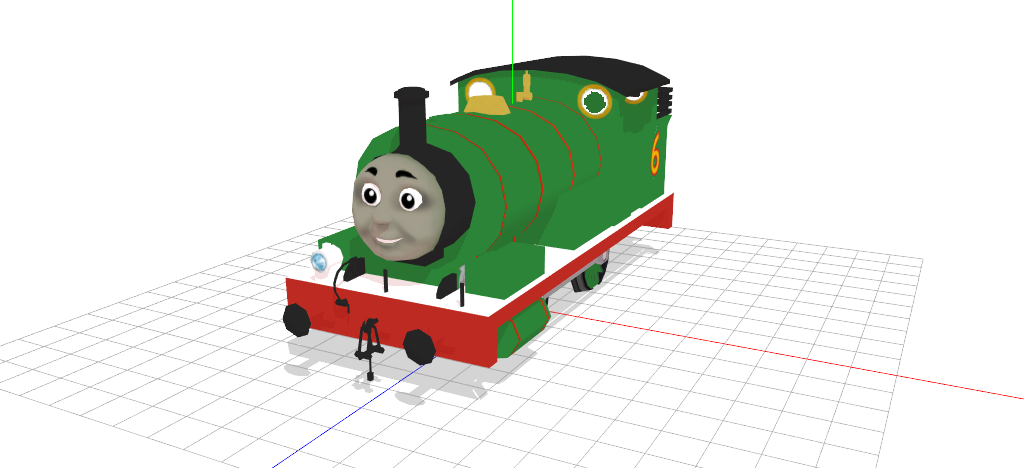 Mmd percy the dl. Engine clipart small engine