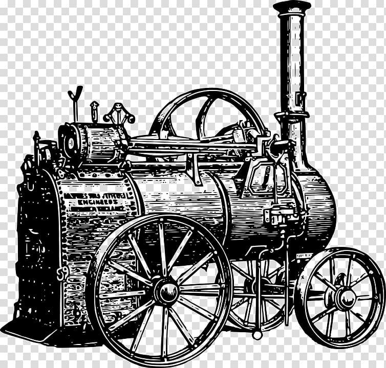 Engine clipart steam engine. Train industrial revolution locomotive
