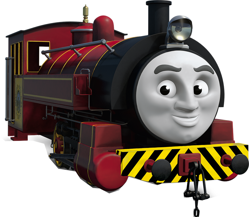 Thomas friends the red. Engine clipart train james