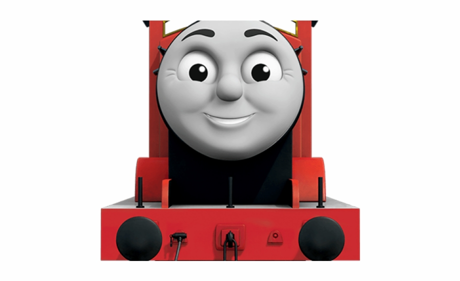 Thomas the tank and. Engine clipart train james