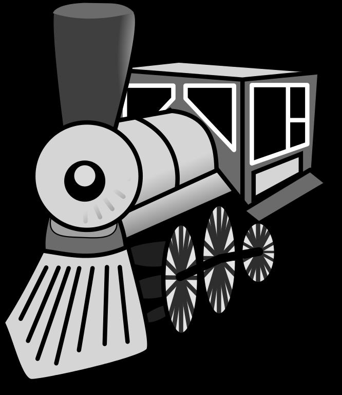 File train icon svg. Engine clipart trainblack