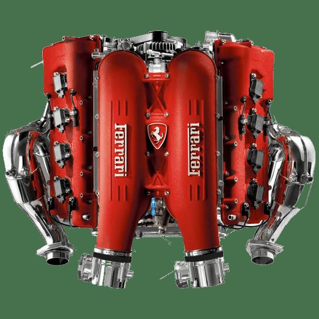 Ferrari png stickpng. Engine clipart transparent