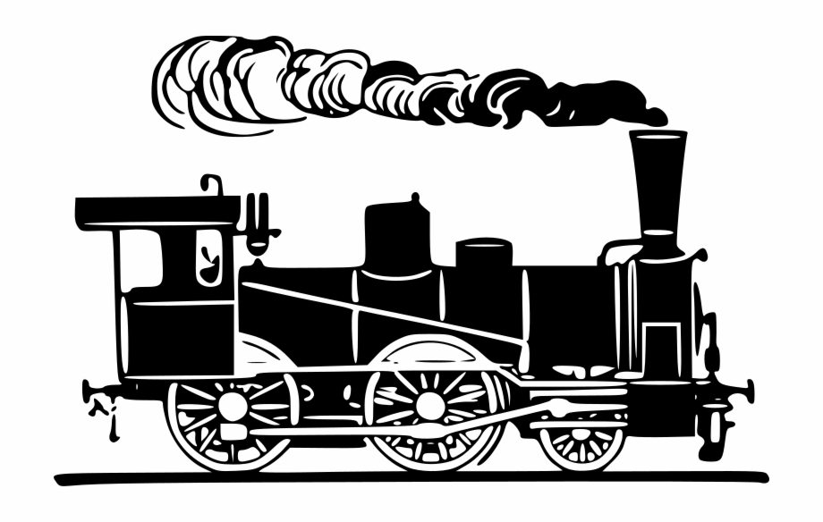Steam train png . Engine clipart transparent