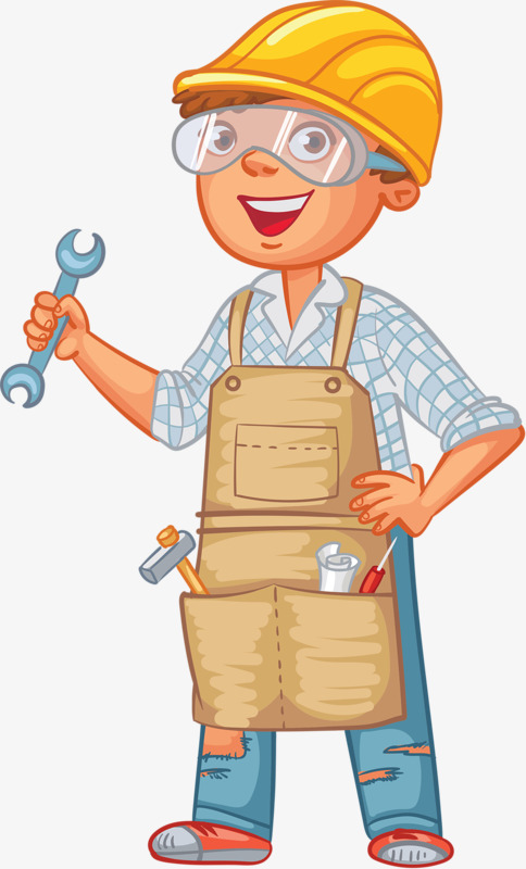 Mechanical engineers wrench cap. Engineering clipart project engineer