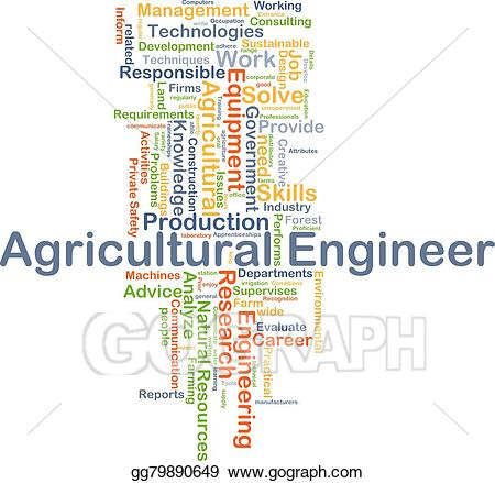 Engineering clipart agricultural engineering. Drawing engineer background concept