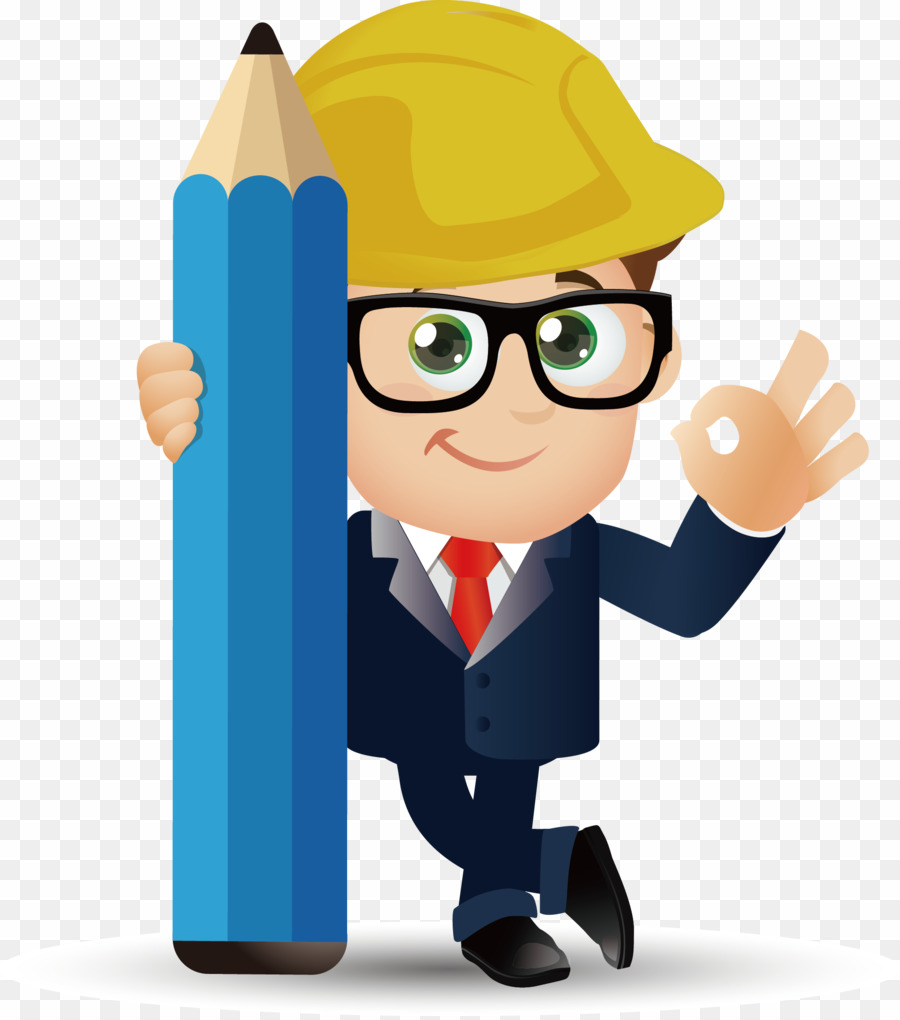 Cartoon png architectural engineering. Engineer clipart architect engineer
