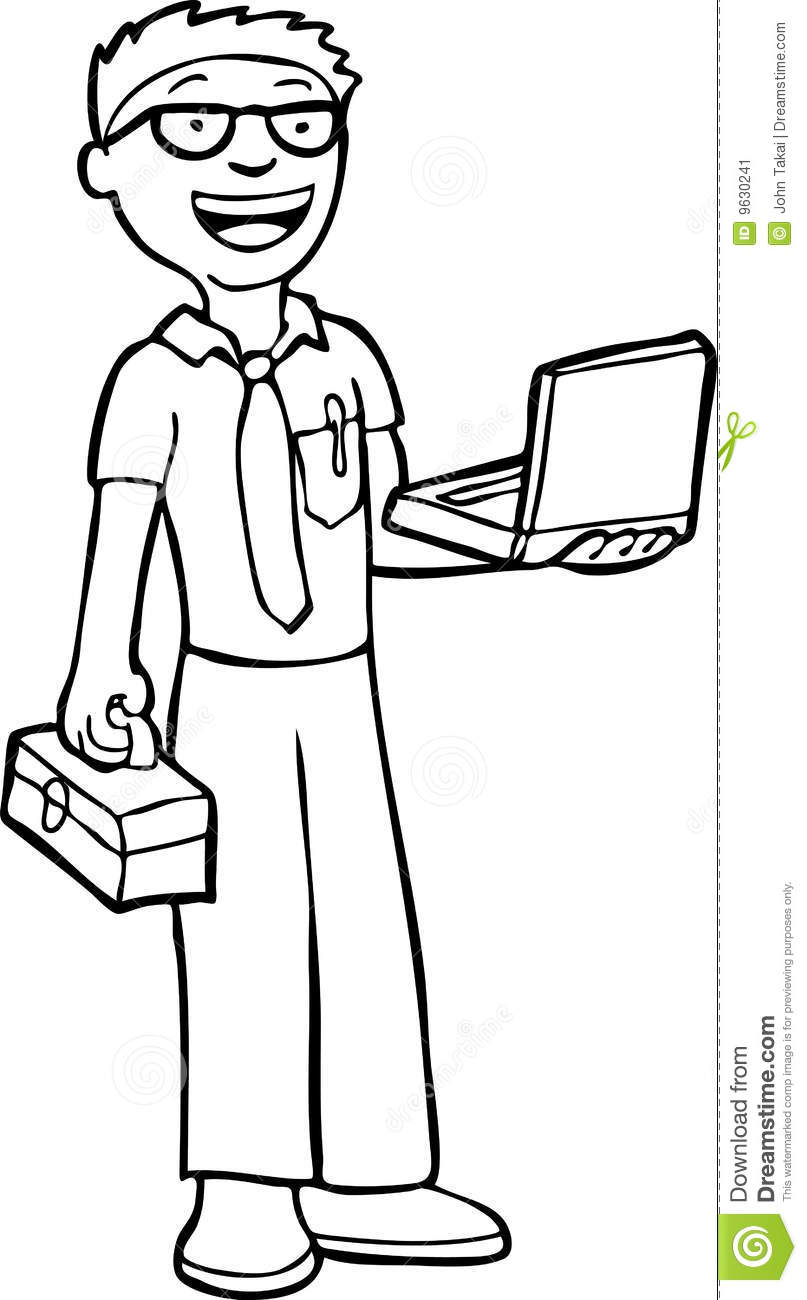 Station . Engineer clipart black and white