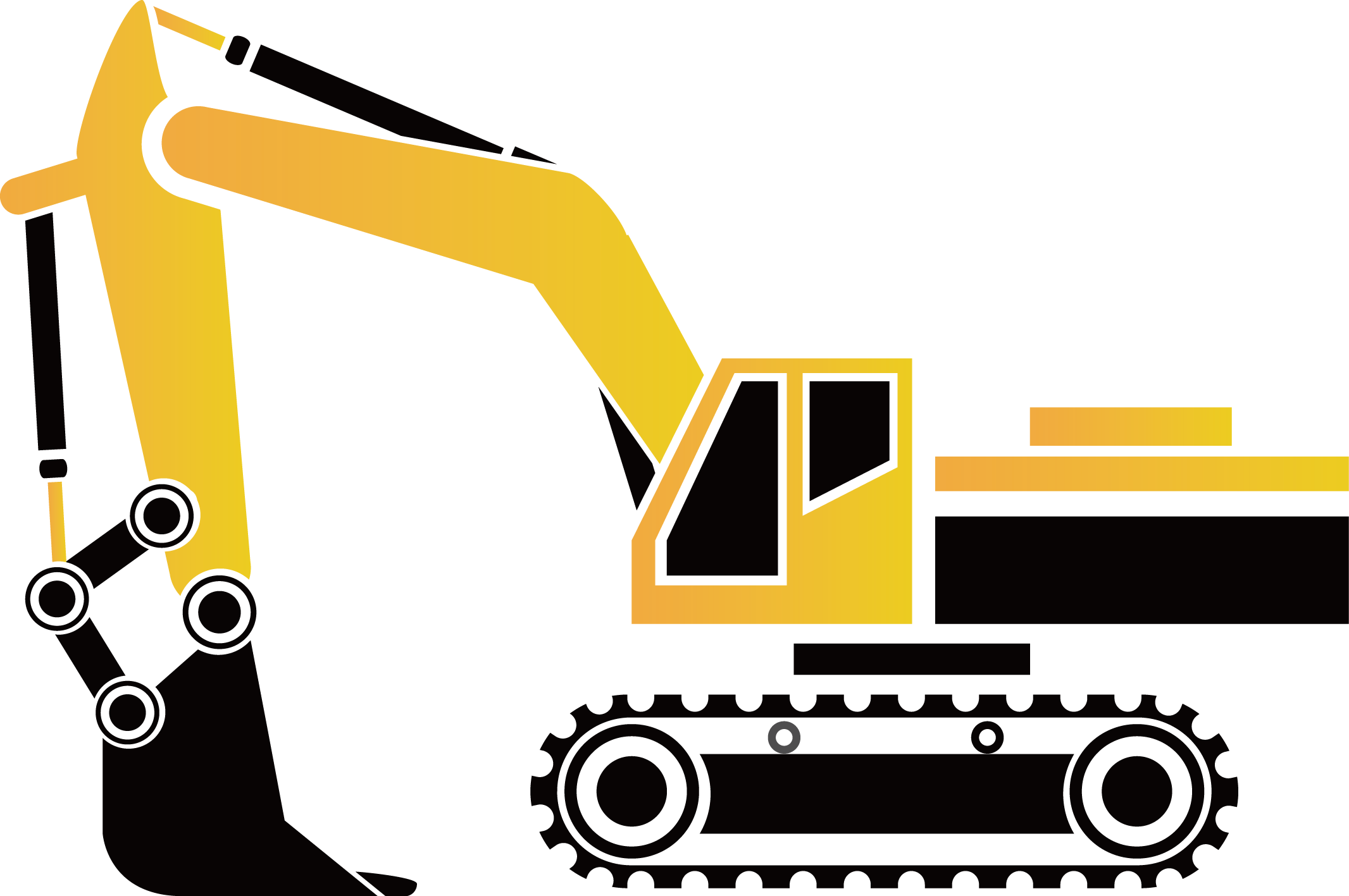 Engineering clipart engineering wheel. Excavator architectural earthworks icon