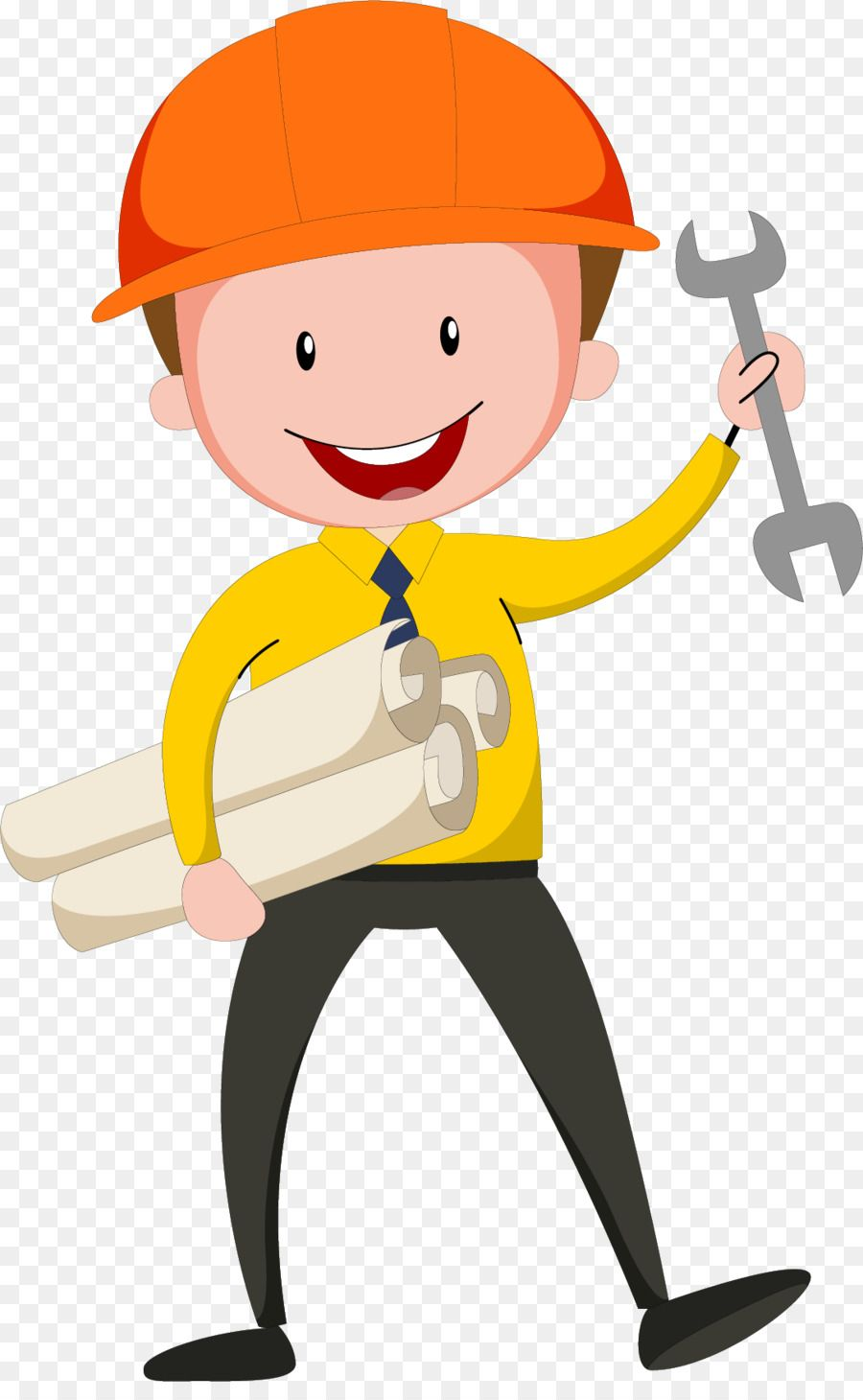Helmet clipart civil engineer. Engineering design wearing a
