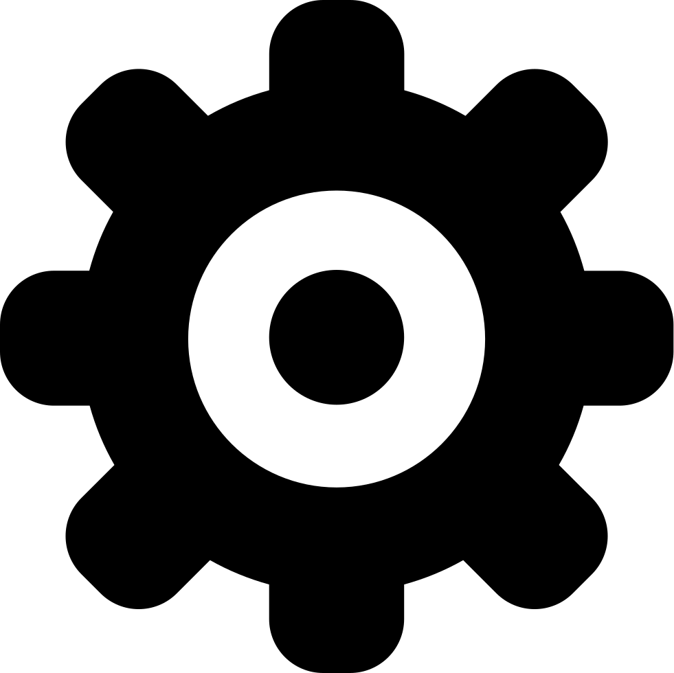 Settings options svg png. Gear clipart cog