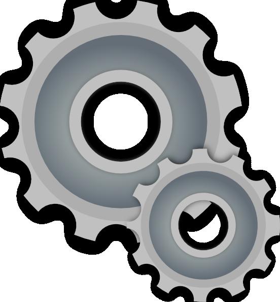 Gears clip art at. Gear clipart svg