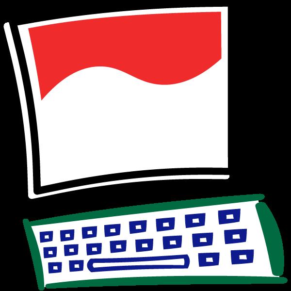 Engineer clipart computer operator. Activities for beginners technostart