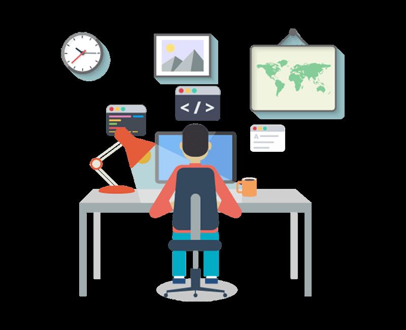 Best website development company. Growth clipart career enhancement