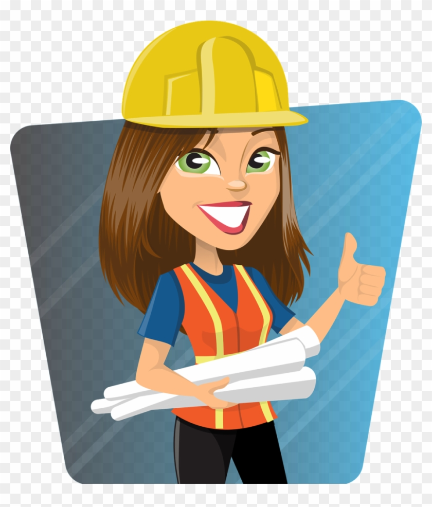 Engineer clipart female engineer. Introduce a girl to
