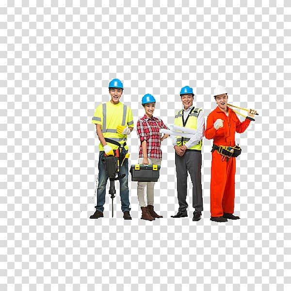 Engineer clipart group engineer. Of people wearing hard