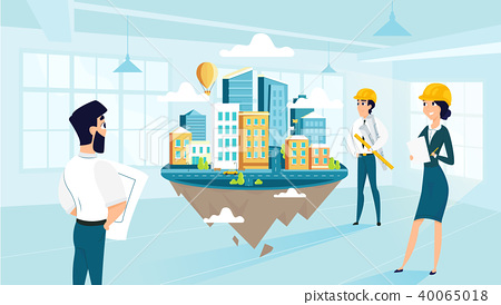 Architects create and engineering. Engineer clipart group engineer
