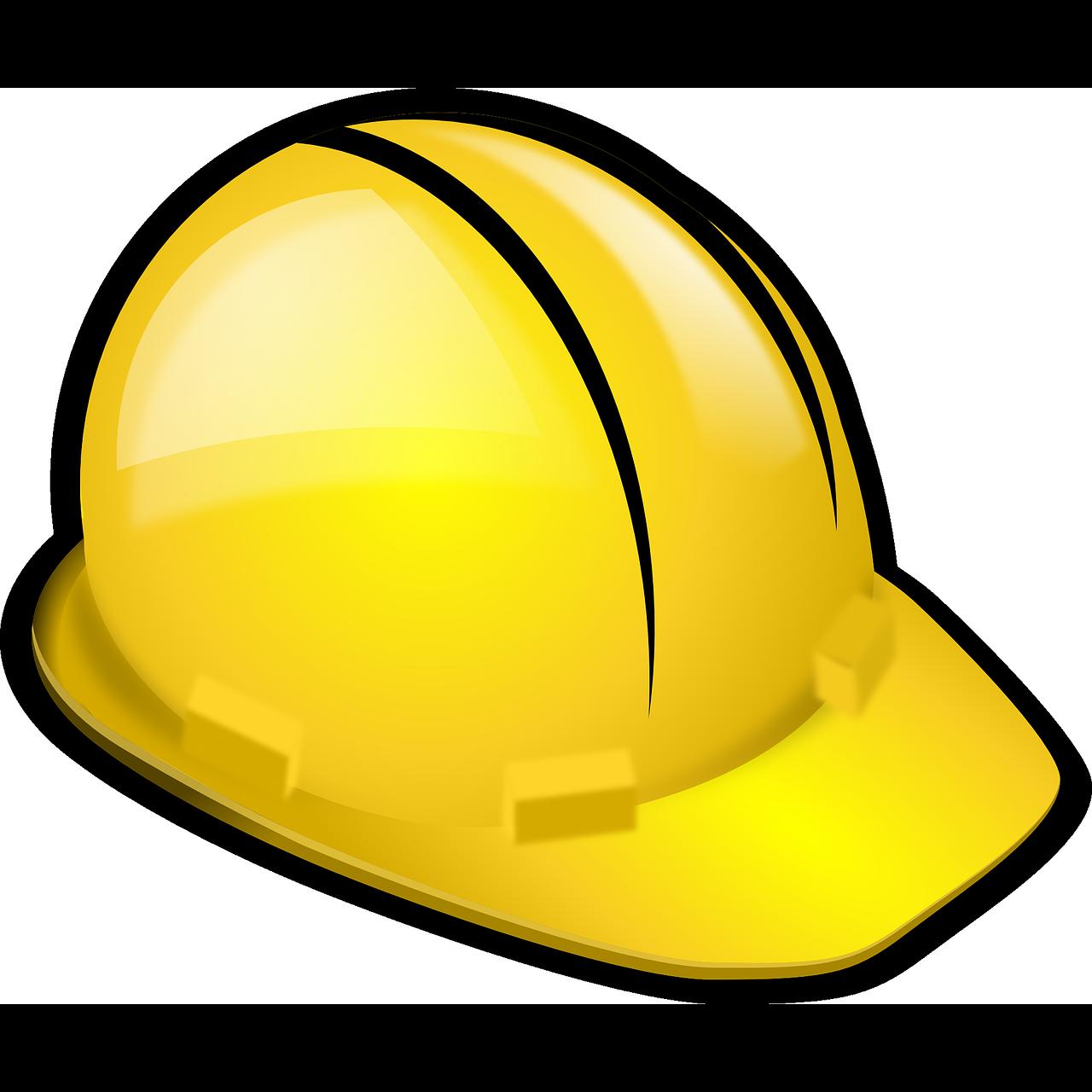 Engineering clipart hardhats. Hard hats laborer clip