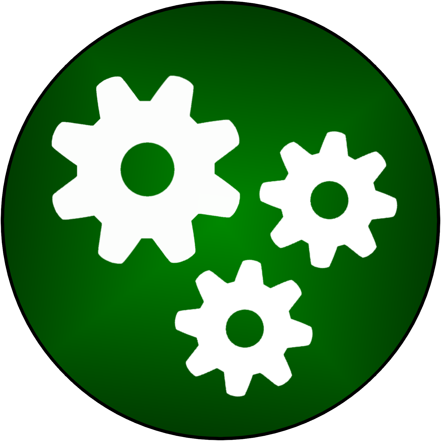 Logos and promo material. Engineer clipart icon