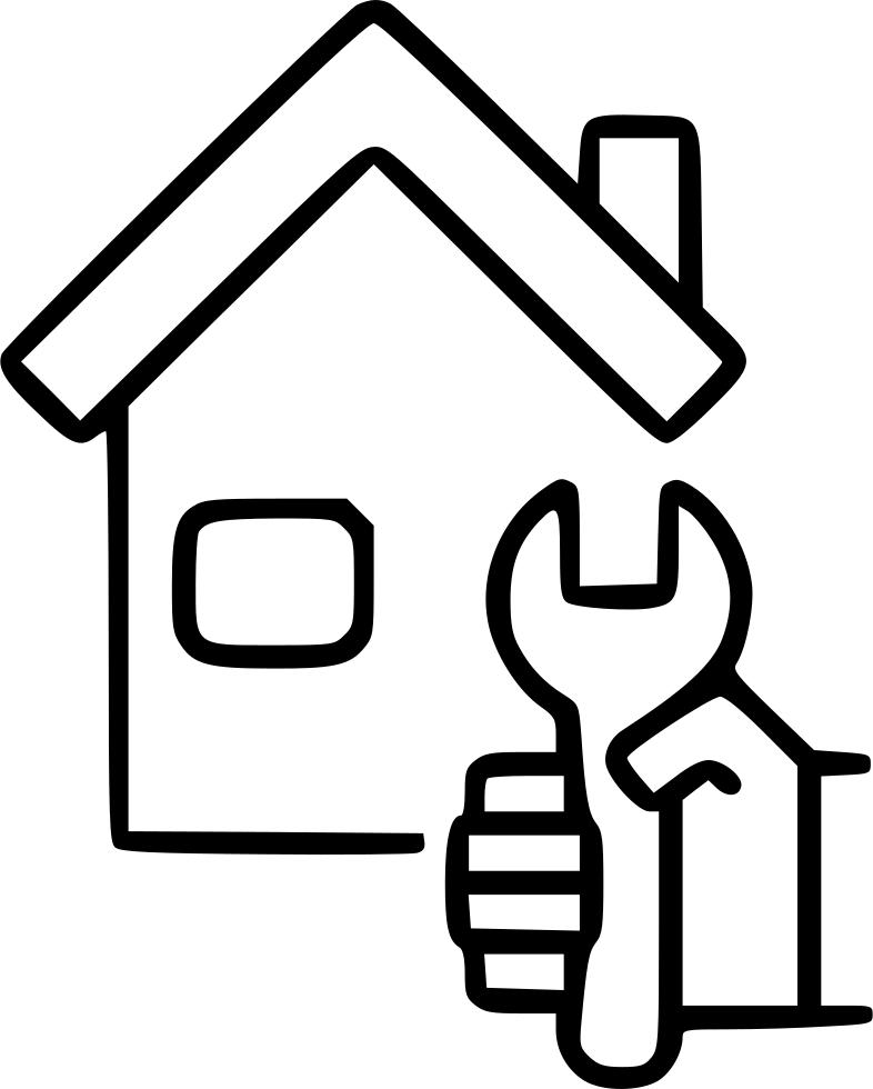 House repair service fix. Engineering clipart engineering tool