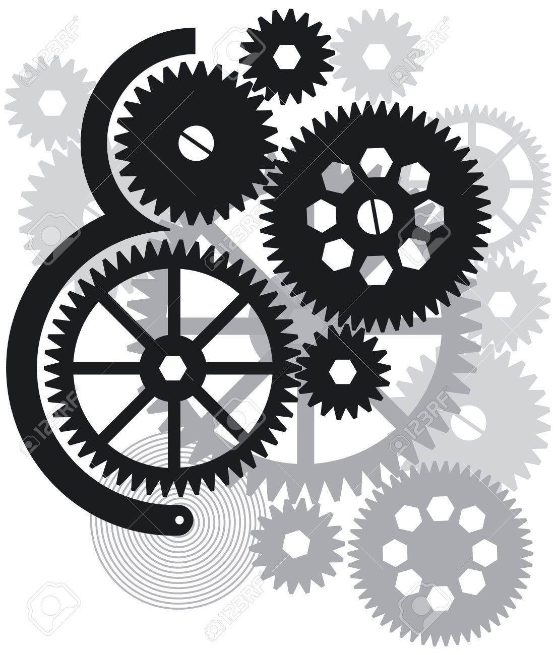 Image result for bw. Engineer clipart mechanical engineer
