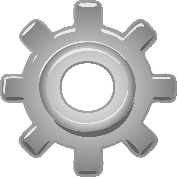 Gear clipart cogwheel. Single clip art at