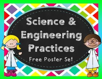 Freebie science and practice. Engineering clipart practical