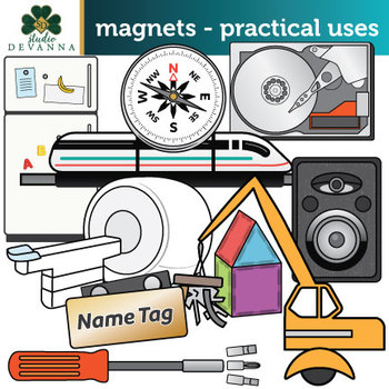 Engineering clipart practical. Magnets uses