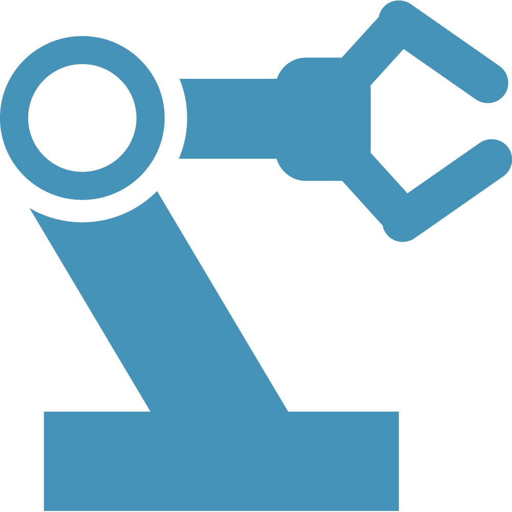 Factories clipart industry profile. Factory automation robotics patti